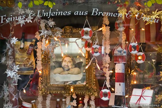 Bremen, Shop Window, Schnoor (detail)