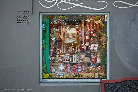 Bremen, Shop Window, Schnoor